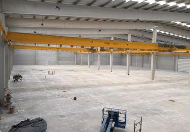 Estamos preparando un nuevo almacén en Galicia